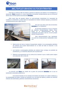 BELTSIFLEX BANDAS AUTOCENTRANTES